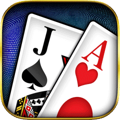 USA Blackjack betting icon